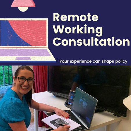 Working from Home – Public Consolation