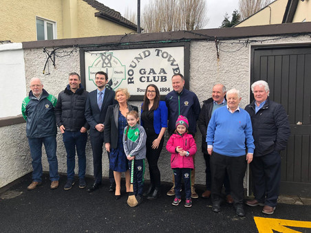 Minister for Sport Visits Rathcoole, Clondalkin and Lucan