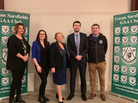 Dublin Mid-West to receive over €170K for Community Infrastructure Projects – Cllr. Emer Higgins