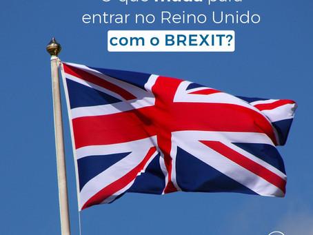 O que muda para entrar no Reino Unido com o BREXIT?