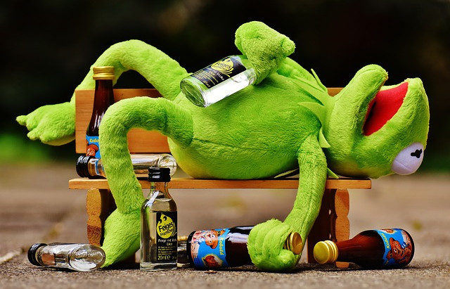 Don't be a Muppet with Drink