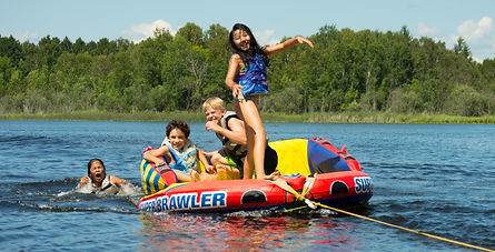 tubing at northwoods adventure