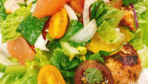 Chopped Chicken and Citrus Salad