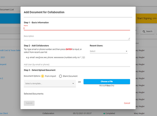 Add Document for Collaboration.PNG