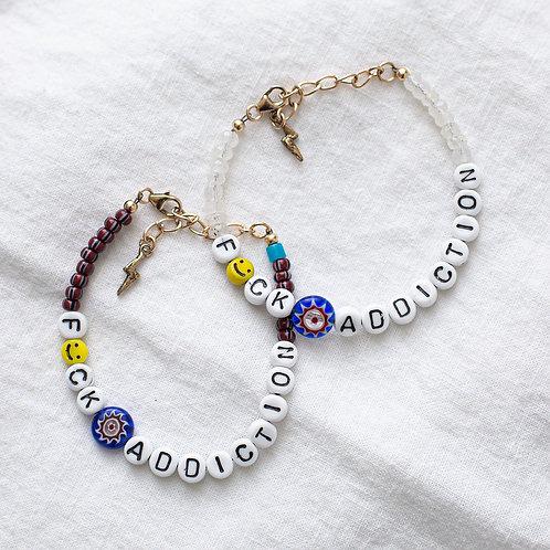 F🙂CK ADDICTION Bracelet