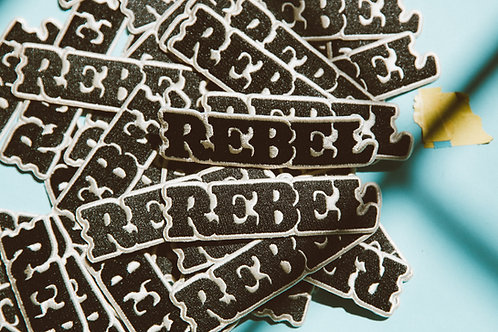 Rebel Logo Patch