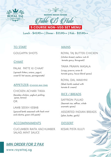 Royal TAJ Set Course Meal - NON VEG.jpg