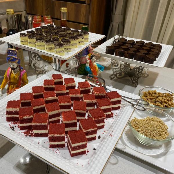Dessert Setup at Royal TAJ Buffet