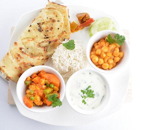 indian veg meal set