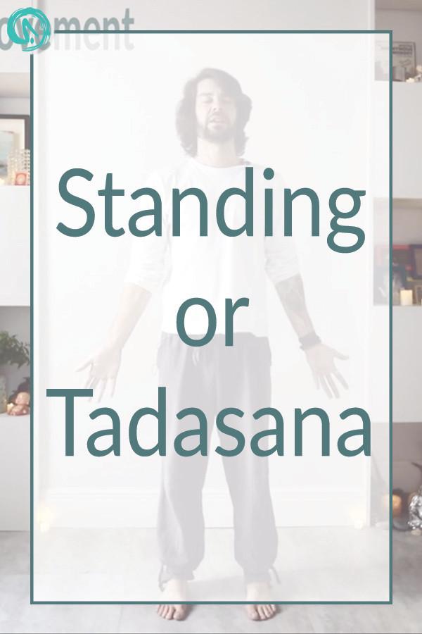 Tadasana yoga pose brighton and hove