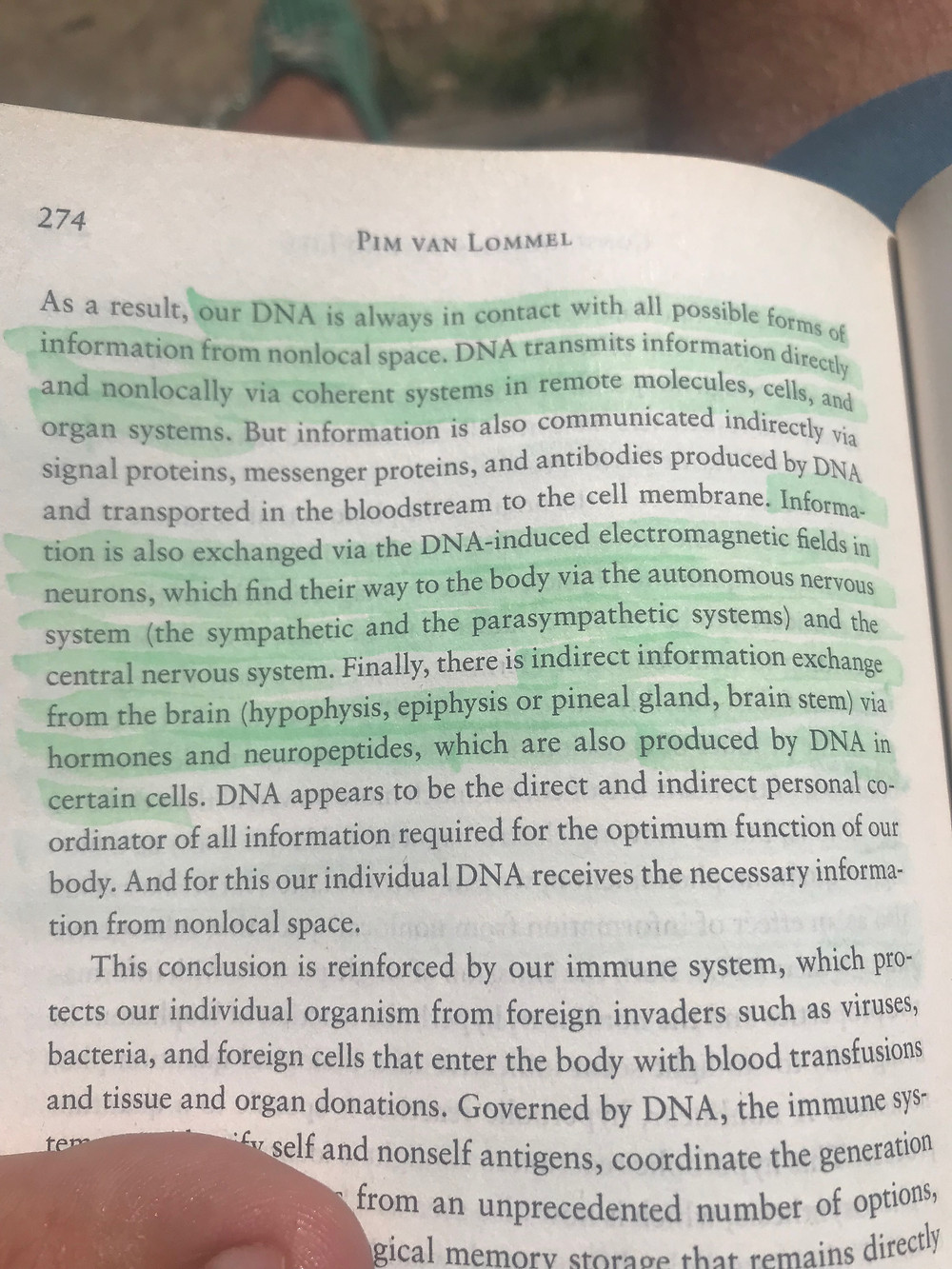 DNA and consciousness- life after death