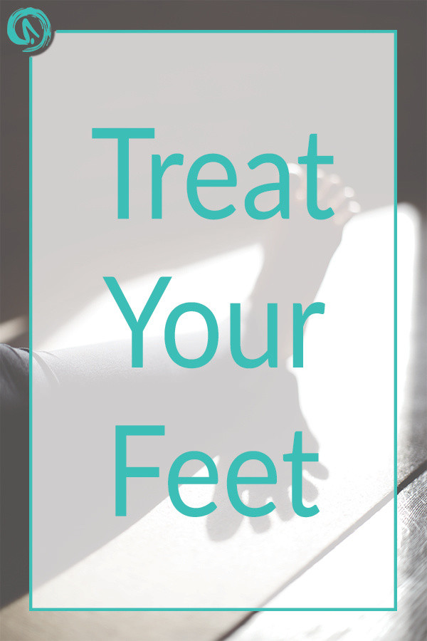 Treat your feet- foot massage video for healthy feet