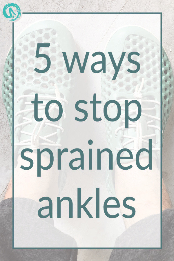 5 ways to stop sprained ankles