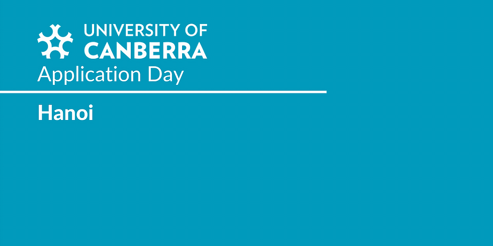 University of Canberra Application Day at Hanoi Study Centre (NSS)