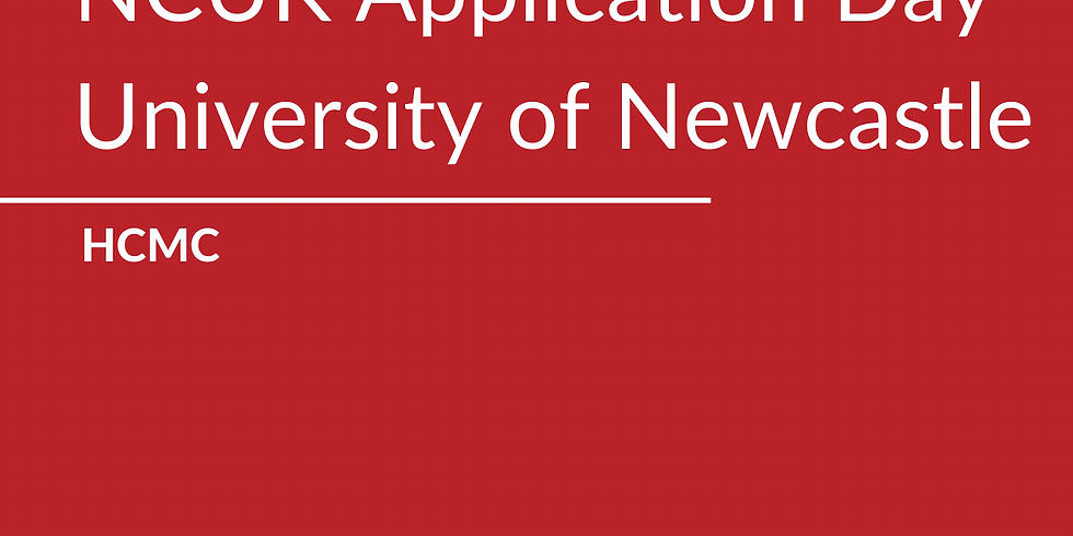 NCUK Application Day with the University of Newcastle