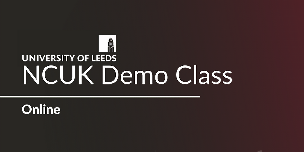 NCUK Demo Class with the University of Leeds