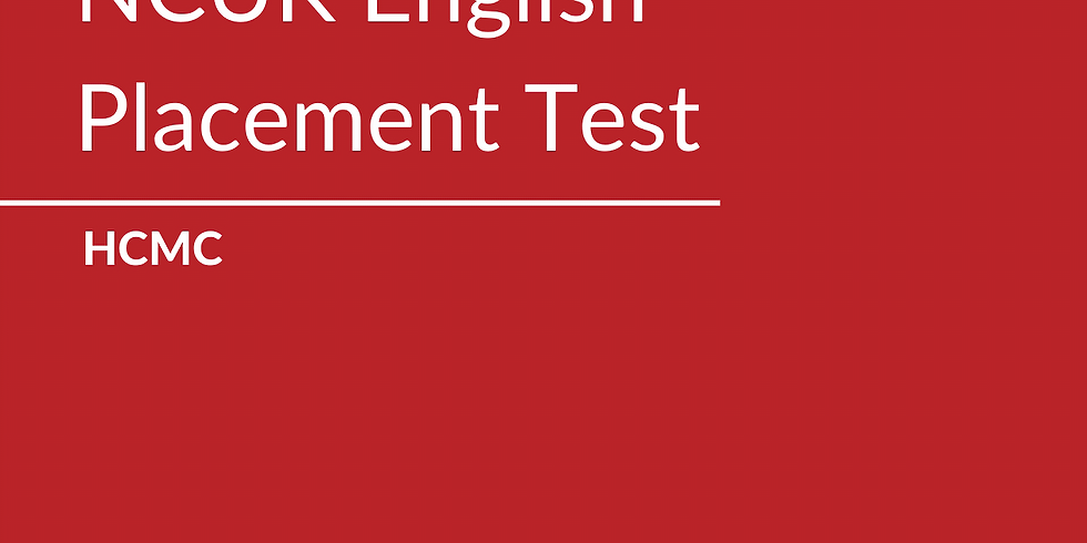Free NCUK English Placement Test
