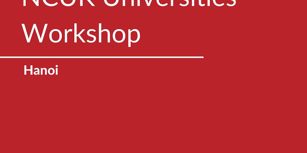 NCUK Universities Workshop