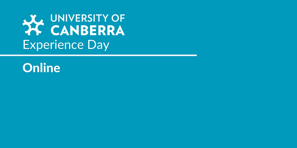 University of Canberra Experience Day