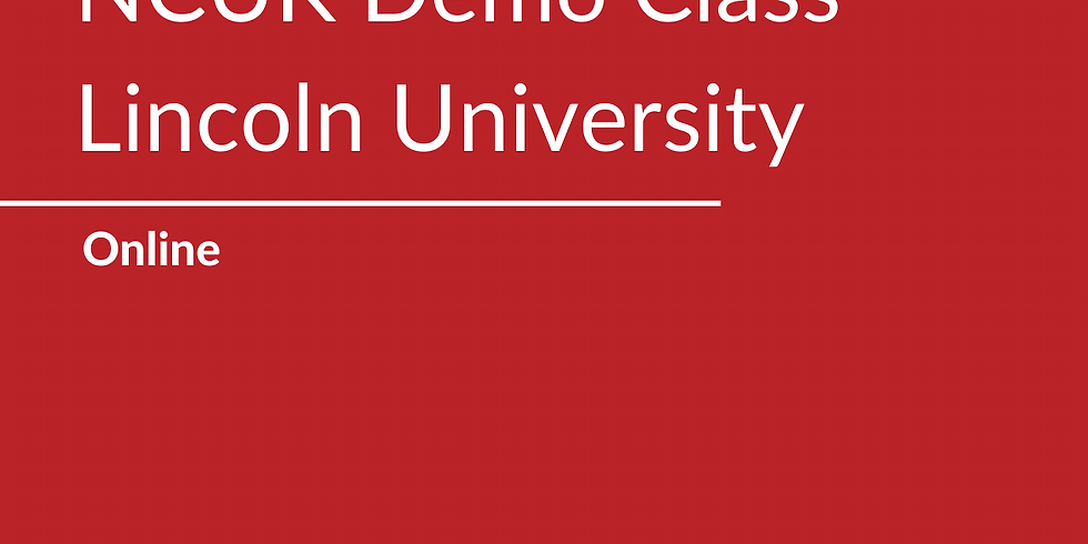 NCUK Demo Class with Lincoln University