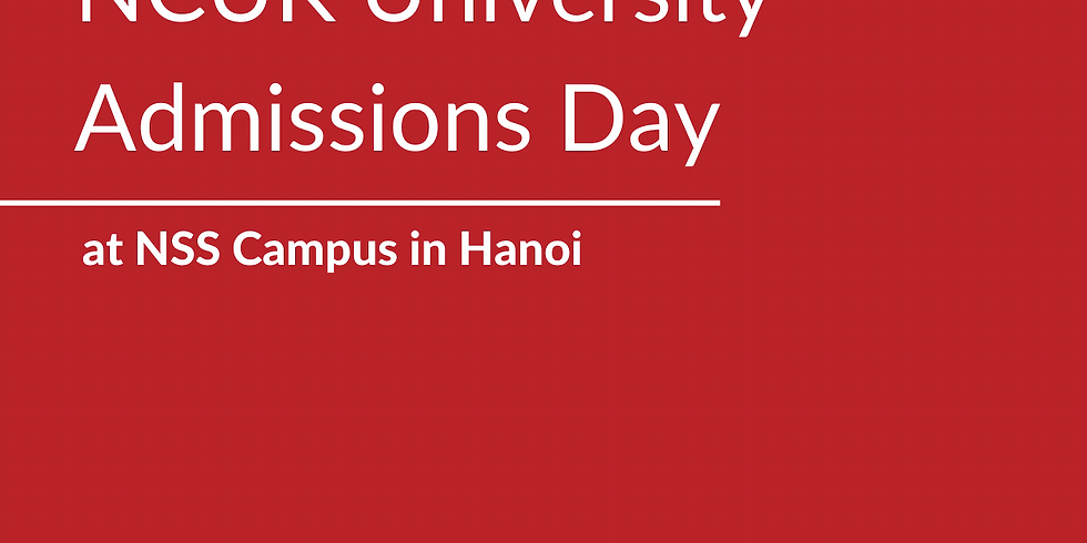 NCUK University Admissions Day at NSS