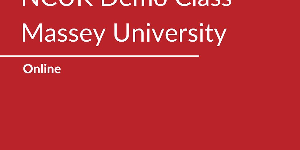 NCUK Demo Class with Massey University