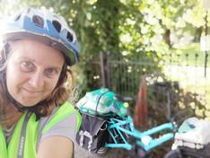 Abbie and Bike
