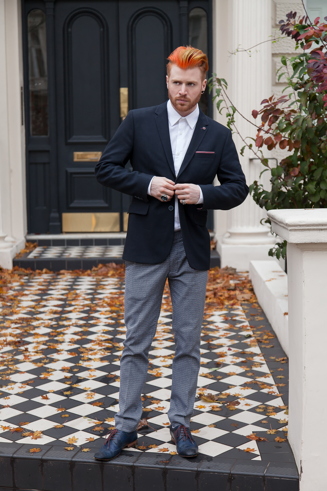 Stylish man in a suit