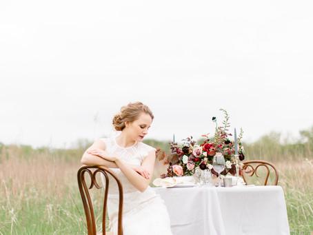 Old World Bridal Inspiration at Wanatee Park | Marion, Iowa