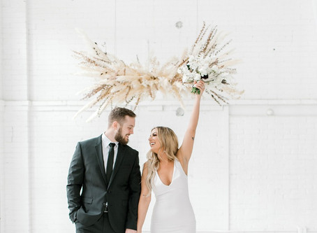Modern Boho Inspiration Shoot With a Surprise at The Driftless | Dubuque