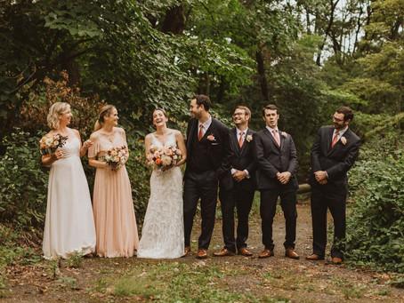 Intimate Wedding at Historic Hauberg Estate | Rock Island, Illinois