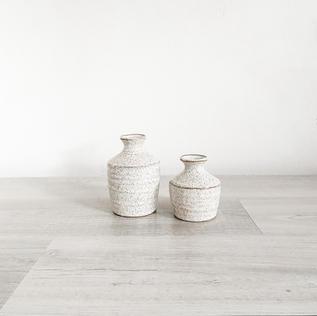 hari petite ceramic budvases