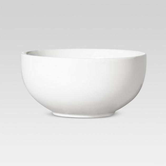 cumulus white ceramic bowl