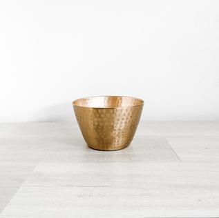 jema gold metal bowl