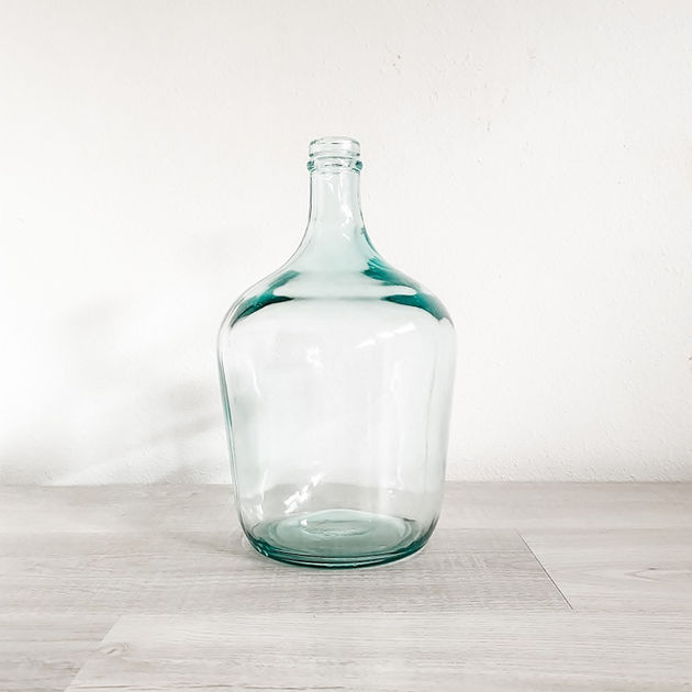 demijohn recycled glass jug vase