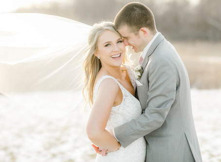 Prelude to Spring Wedding at Ashton Hill | Cedar Rapids, Iowa