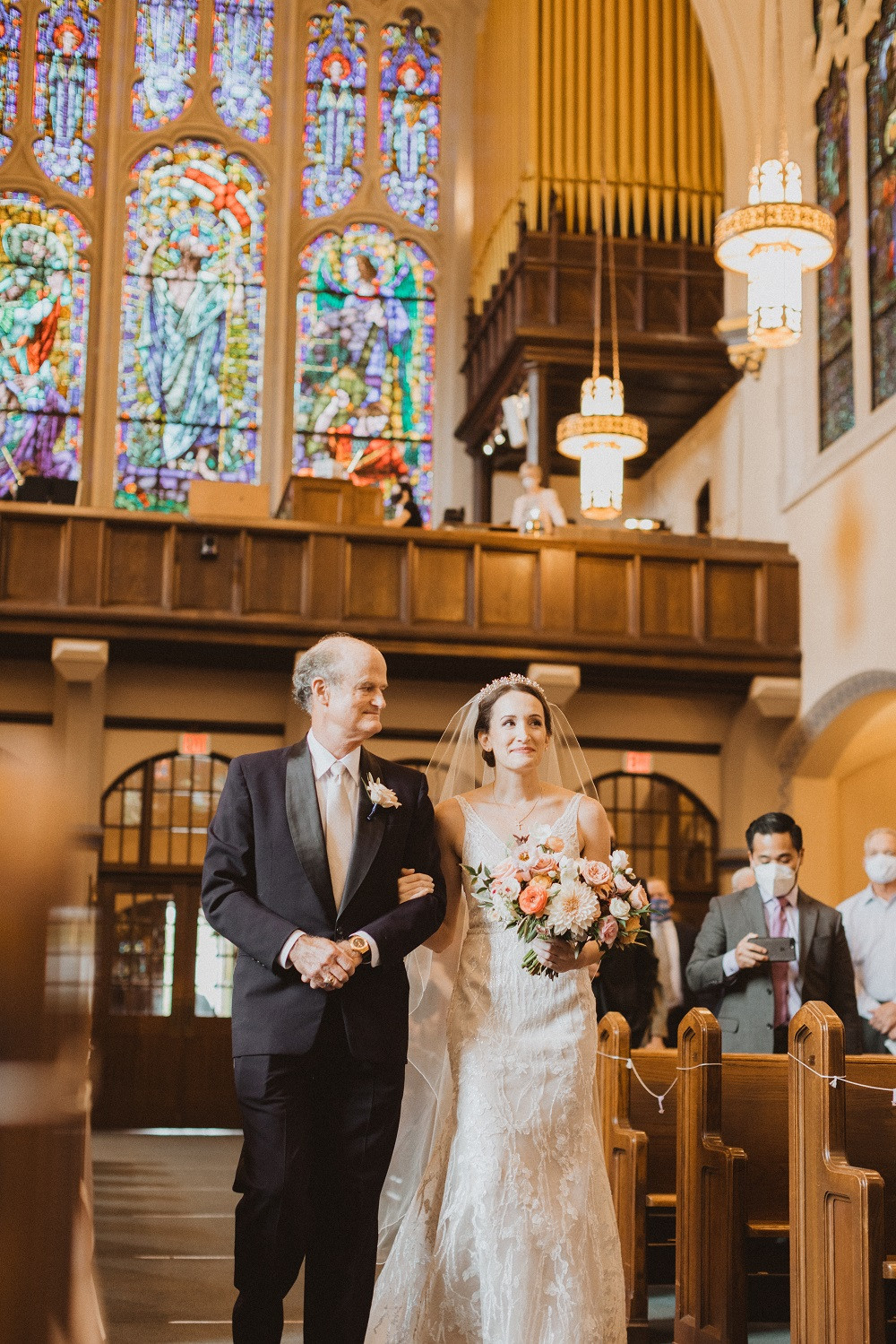 Studio Bloom Bride at Sacred Heart Church