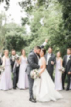 bride-groom-bridal-party-cheers-wedding-