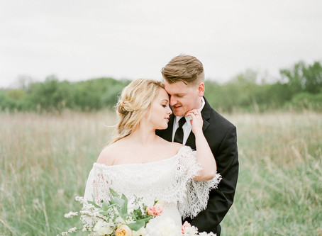 Bountiful Farm to Table Wedding Inspiration at Squaw Creek Park | Marion, Iowa