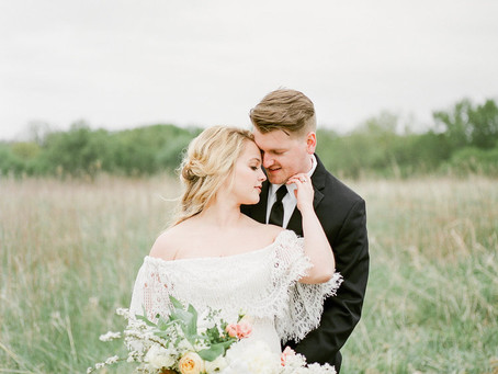 Bountiful Farm to Table Wedding Inspiration at Wanatee Park | Marion, Iowa