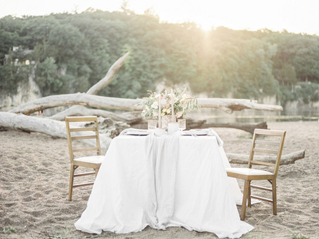 Beachy Summer Wedding Inspiration