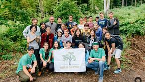 自然・つながりプログラム:皮むき間伐&きこり体験 - みらいの森