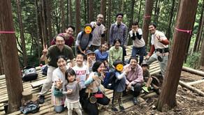 森と踊る木こり皮むき体験会 2018@高尾 FINAL