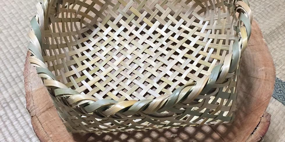 竹籠を作ろう ~自ら切り出し己で編む、和の営み~
