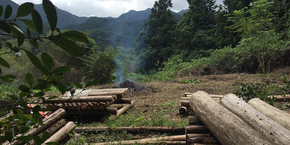 高尾の森で井戸掘りチャレンジ!