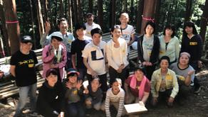 森と踊る木こり皮むき体験会 2018@高尾 vol.2