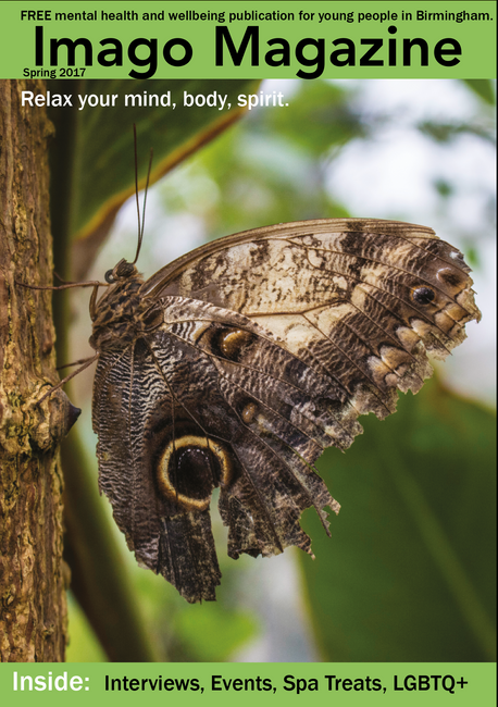 Front cover of Imago Magazine