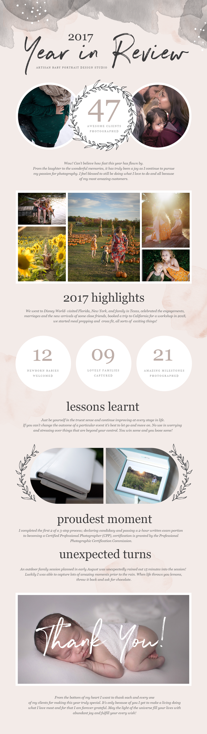 2017 Year In Review- HUDSON, MA. BABY PHOTOGRAPHY