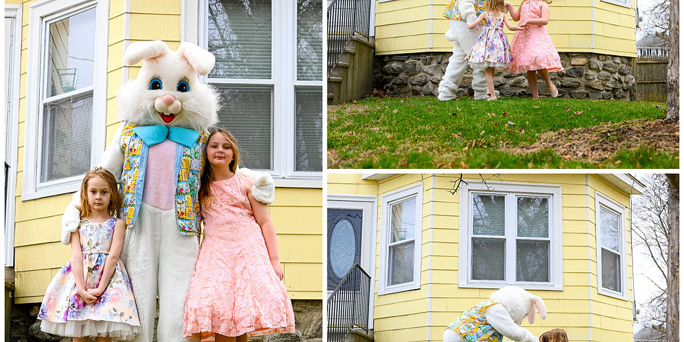 April 4, 2021 - Easter Bunny Home Visit - w/in 3 miles of 01749