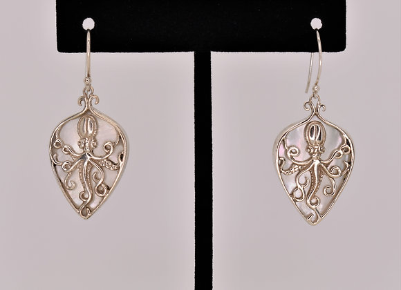 Mother of Pearl & Sterling Silver
